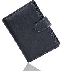 genuine leather passport holder men wallet with passport pocket coin pocket mult