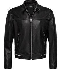 leather jacket läderjacka skinnjacka svart the kooples