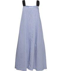 diana dress 14014 knälång klänning blå samsøe samsøe