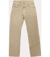 pantalon algodón 5 bolsillos beige polo ralph lauren