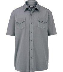 overhemd men plus grijs