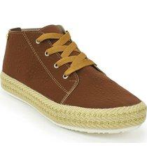 zapato casual yute dama 692205miel