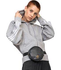 pochete adidas originals waistbag round preta