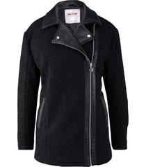 giacca invernale in ecopelliccia (nero) - john baner jeanswear