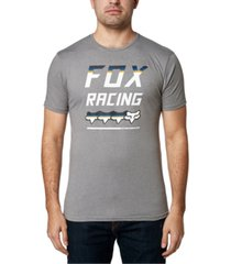 fox men's full count premium logo t-shirt