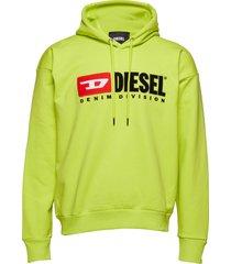 s-division sweat-shirt hoodie trui groen diesel men