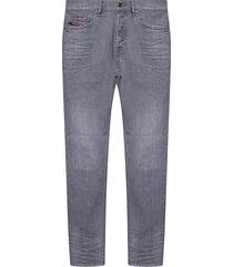 d-luster jeans met plooien
