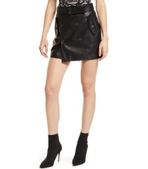 blanknyc faux leather skirt, size 31 in new traditions at nordstrom