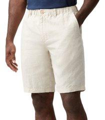 tommy bahama men's the good life elastic-waist linen shorts