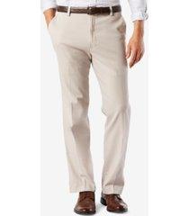 dockers men's big & tall easy classic fit khaki stretch pants