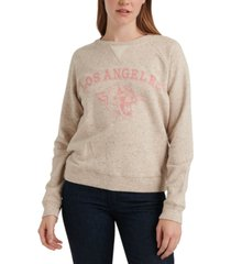 lucky brand los angeles pullover sweatshirt