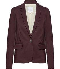suit jacket blazer kavaj röd coster copenhagen