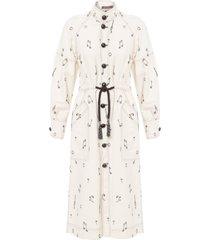 casaco feminino trend musique - off white