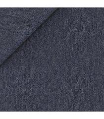 blazer da uomo su misura, lanificio cerruti, blu denim, quattro stagioni | lanieri