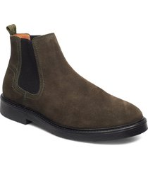 redmond stövletter chelsea boot grön playboy footwear