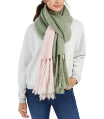 steve madden colorblocked scarf