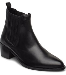 biacarol chelsea boot shoes boots ankle boots ankle boot - heel svart bianco