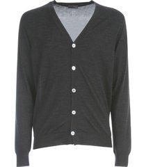 drumohr wool modern cardigan w/s v neck