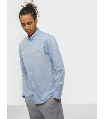 premium by jack & jones jprblaspring otto shirt l/s skjortor blå