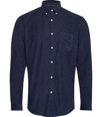 shirt skjorta casual blå marc o'polo