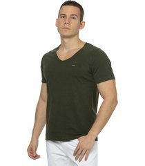 camiseta alfaiataria burguesia metalist rasg verde - verde - masculino - algodã£o - dafiti