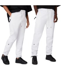 converse pantalones dagger white