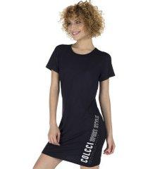 vestido colcci curto 445700122 - adulto - preto