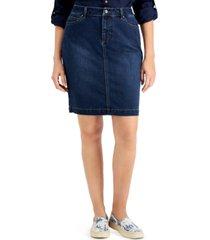 charter club atlantic jean skirt, created for macy's