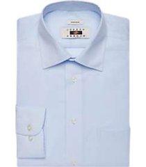 joseph abboud blue diamond stripe dress shirt