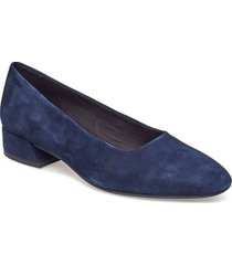 joyce shoes heels pumps classic blå vagabond