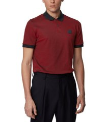 boss men's parlay 70 cotton-pique polo shirt