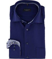 eterna overhemd donkerblauw comfort fit