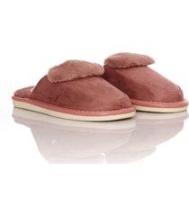 slippers furry flip thm mujer morado