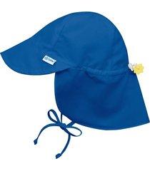sombrero solid flap azul rey iplay