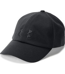 gorra under armour microthread renegade para mujer - negro