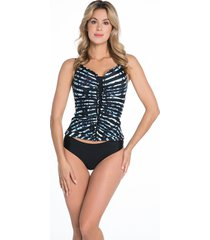 bomain ladies tankini stripe & print 28015-200
