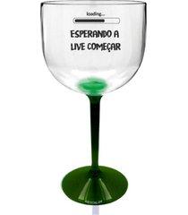 2 taã§as gin com base verde personalizadas criativas para live - incolor - dafiti