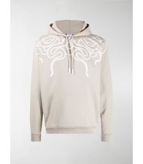 marcelo burlon county of milan graphic-print hoodie