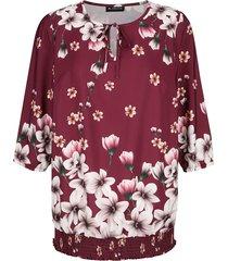 blouse m. collection bordeaux