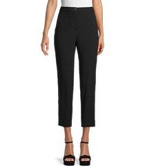 rag & bone women's meki side stripe pants - black - size 8