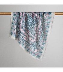 sundance catalog women's harissa bandanas in teal