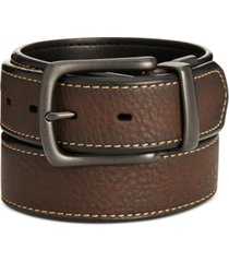 levi's men's pebbled reversible belt