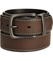 levi's men's pebbled reversible belt