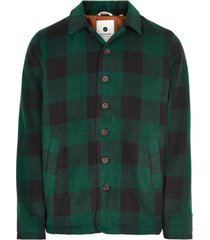 jack akalavez long check jacket