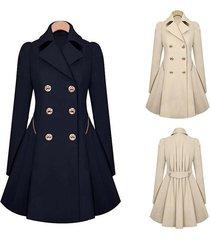 women fashion euramerican style of trench coat dress coat