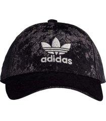 boné adidas velour bb cap preto