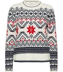 sweaters stickad tröja multi/mönstrad edc by esprit