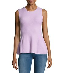 felted sleeveless top