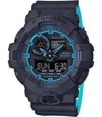 reloj g shock ga_700se_1a2 gris resina