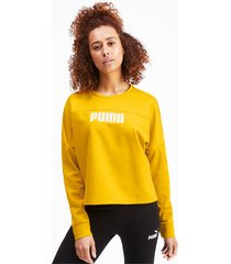 nu-tility cropped sweater voor dames, maat m | puma